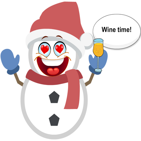 Silly Christmas Snowman messages sticker-10
