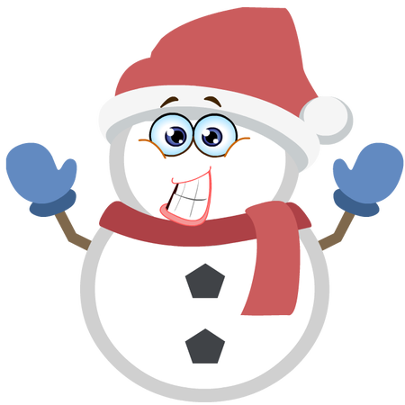 Silly Christmas Snowman messages sticker-4