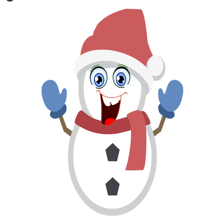 Silly Christmas Snowman messages sticker-11