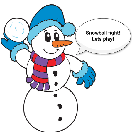 Silly Christmas Snowman messages sticker-6