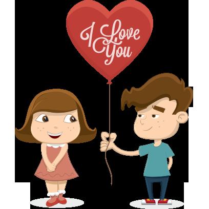 Love Sticker Messanger messages sticker-6