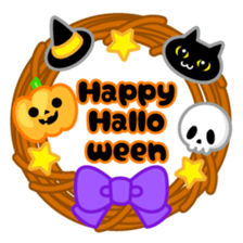 Halloween Colorful Stickers messages sticker-1