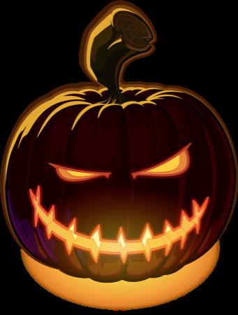 Pumpkin Halloween Emoji Sticker #5 messages sticker-8