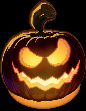 Pumpkin Halloween Emoji Sticker #5 messages sticker-5