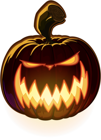 Pumpkin Halloween Emoji Sticker #5 messages sticker-11