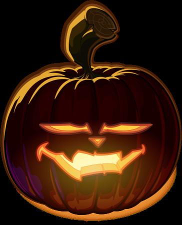 Pumpkin Halloween Emoji Sticker #5 messages sticker-9