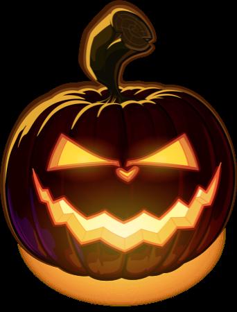 Pumpkin Halloween Emoji Sticker #5 messages sticker-6