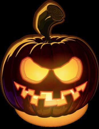 Pumpkin Halloween Emoji Sticker #5 messages sticker-3