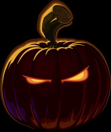 Pumpkin Halloween Emoji Sticker #5 messages sticker-4