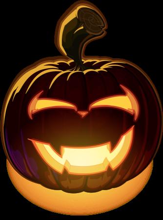 Pumpkin Halloween Emoji Sticker #5 messages sticker-10
