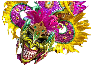 Dominican Carnival Masks messages sticker-6