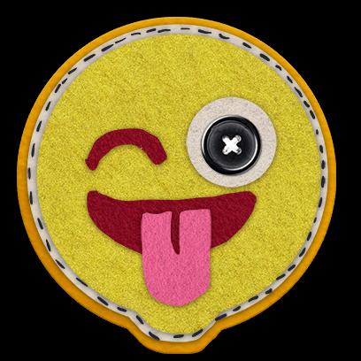 Awesome Craft Emoji Stickers messages sticker-1