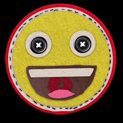 Awesome Craft Emoji Stickers messages sticker-0