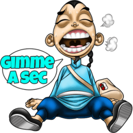 Master Fu And The New Game stickers by Choppic messages sticker-7
