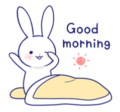 Rabbit Fun Stickers Chat messages sticker-0