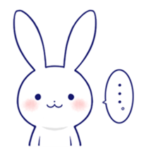 Rabbit Fun Stickers Chat messages sticker-8