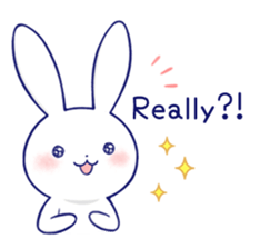 Rabbit Fun Stickers Chat messages sticker-10