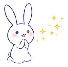 Rabbit Fun Stickers Chat messages sticker-11