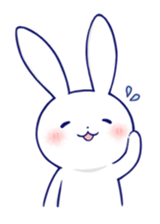Rabbit Fun Stickers Chat messages sticker-7