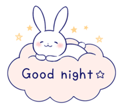 Rabbit Fun Stickers Chat messages sticker-1