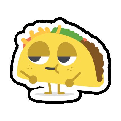 Let's Taco Bout It messages sticker-6