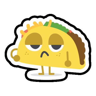 Let's Taco Bout It messages sticker-1