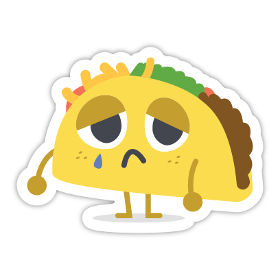 Let's Taco Bout It messages sticker-9
