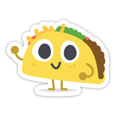 Let's Taco Bout It messages sticker-0
