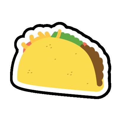 Let's Taco Bout It messages sticker-8