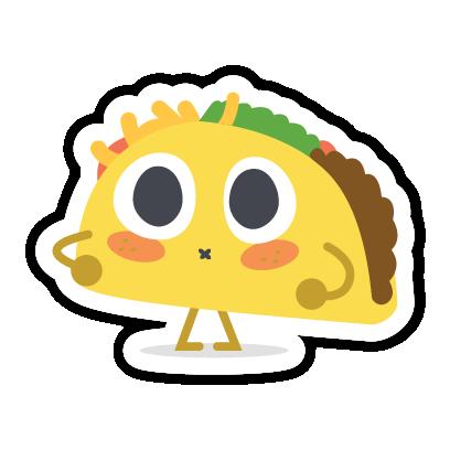 Let's Taco Bout It messages sticker-11