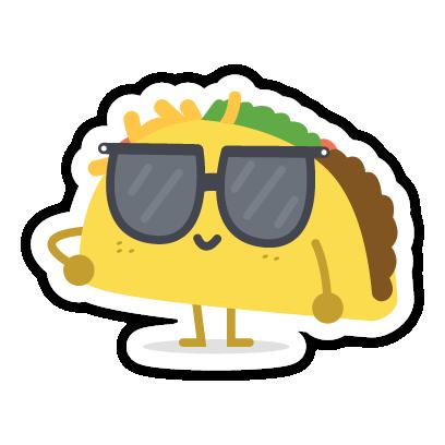 Let's Taco Bout It messages sticker-5
