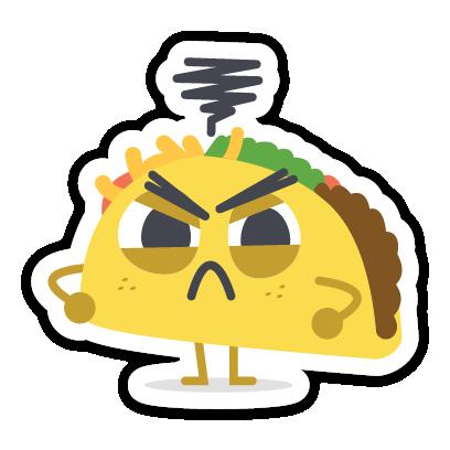 Let's Taco Bout It messages sticker-4