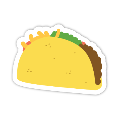 Let's Taco Bout It messages sticker-8