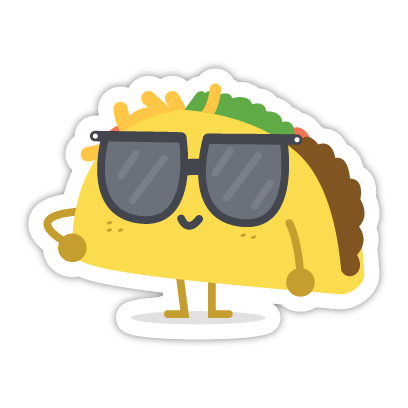 Let's Taco Bout It messages sticker-5