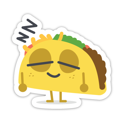 Let's Taco Bout It messages sticker-3