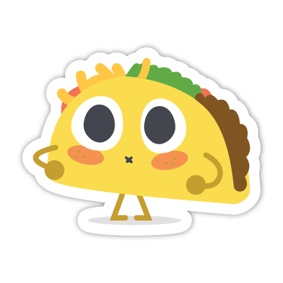 Let's Taco Bout It messages sticker-11