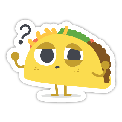Let's Taco Bout It messages sticker-2