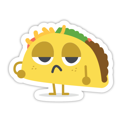 Let's Taco Bout It messages sticker-1