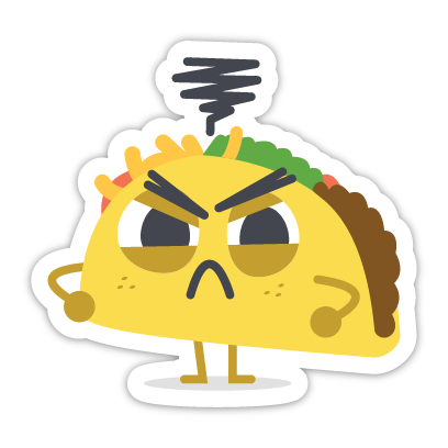 Let's Taco Bout It messages sticker-4