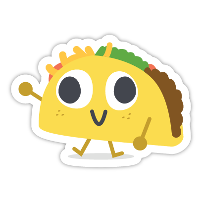 Let's Taco Bout It messages sticker-7