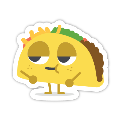 Let's Taco Bout It messages sticker-6
