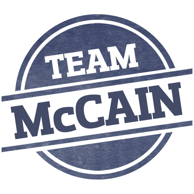 John McCain for Senate Stickers! messages sticker-9