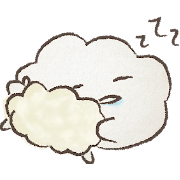 Cloudy Moods messages sticker-3