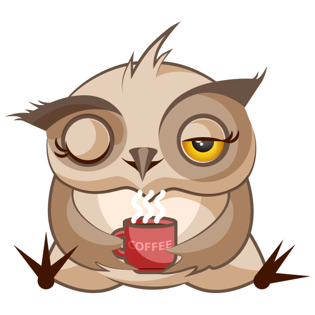 Chubby Owls Stickers messages sticker-10