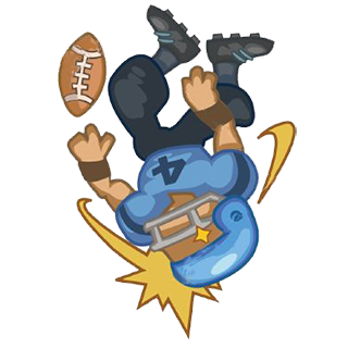 Cartoon Football Sticker - Emoji messages sticker-11