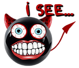 Red Devils Stickers for iMessage messages sticker-7