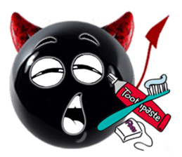 Red Devils Stickers for iMessage messages sticker-4