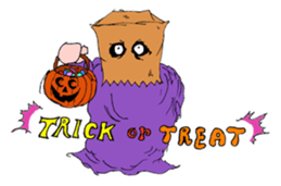 Funny Halloween Kiddy messages sticker-2