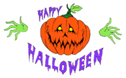 Funny Halloween Kiddy messages sticker-0