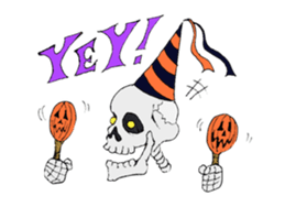 Funny Halloween Kiddy messages sticker-5